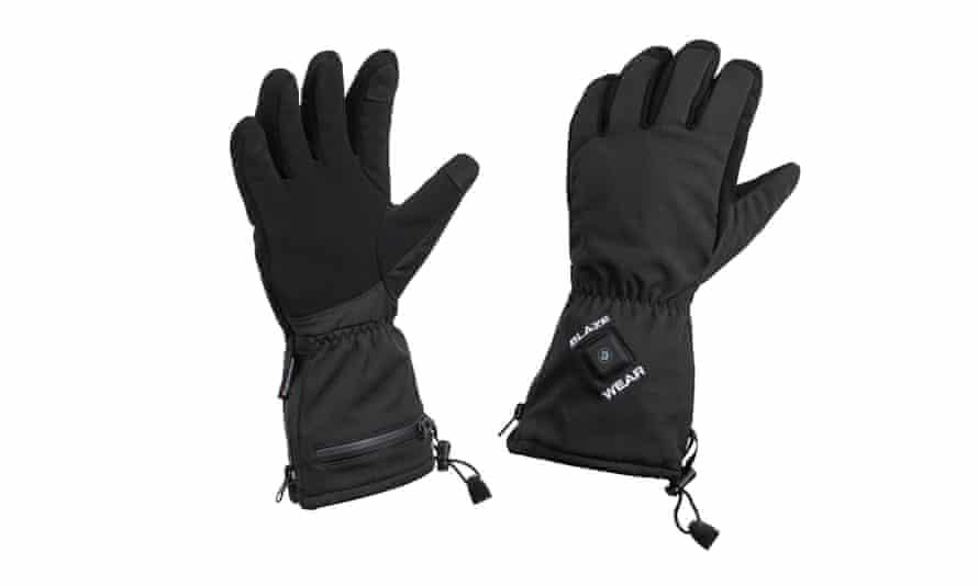Heated gloves from blazewear.com