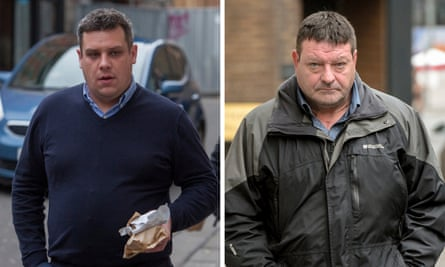 Matthew Gordon and Peter Wood, who were each convicted of manslaughter