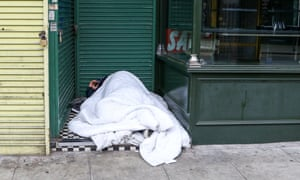 May has pledged to 'end the scourge of rough sleeping for good'.