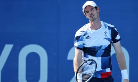 Andy Murray's Olympics at an end after GB doubles defeat to Croatian pair