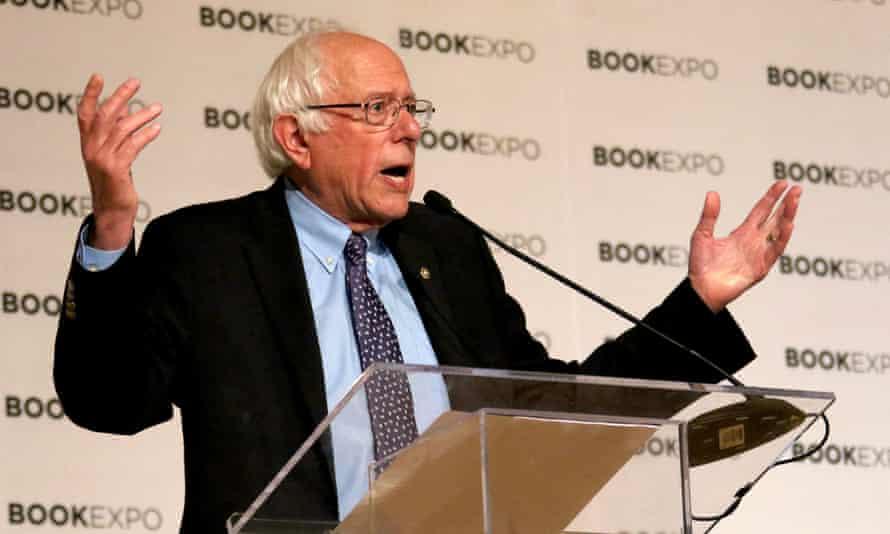 Bernie Sanders is leading the group.