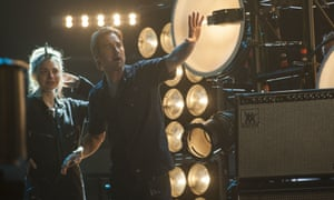 Segway to heaven … Imogen Poots as Kelly Ann and Luke Wilson as Bill in Roadies