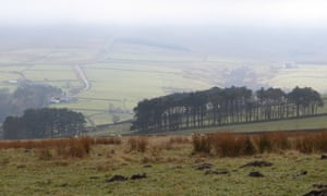 Mist clearing from Allen valley.