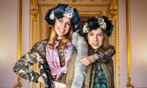 Ellie White and Celeste Dring in The Windsors