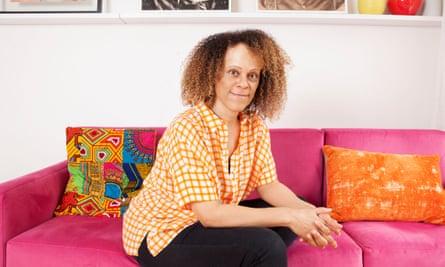 Bernardine Evaristo at home