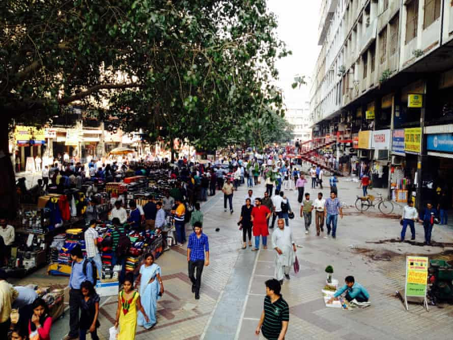 Nehru Place, a down-market version of Silicon Valley.