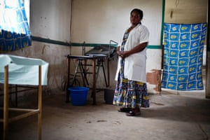 Bossello Menama Patience is a midwife at the hospital, who trained under the nuns
