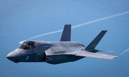 An RAF F-35 Lightning II