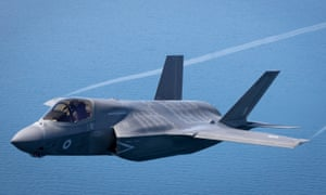 The first of Britain's F-35s in flight last year.
