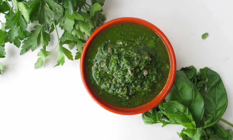 Felicity Cloake's perfect salsa verde.
