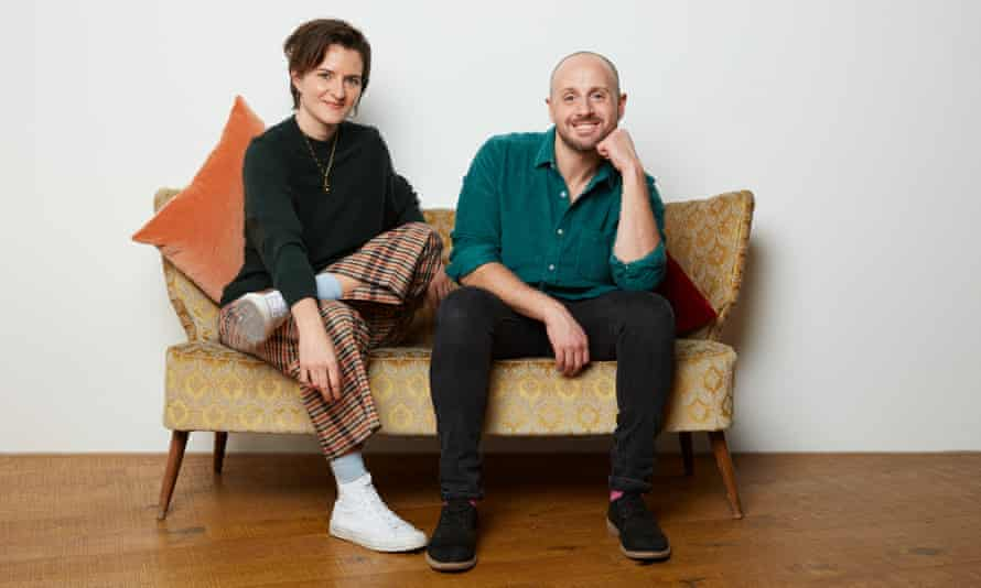 Lotte Jeffs and Stu Oakley … working towards a more inclusive and supportive generation to come.