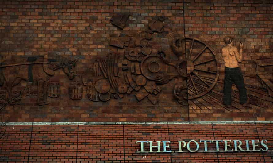 The Potteries Museum and Gallery in Stoke: 'What changed weren't Stoke's representatives but the economic winds buffeting small towns everywhere.'