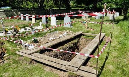A burial plot