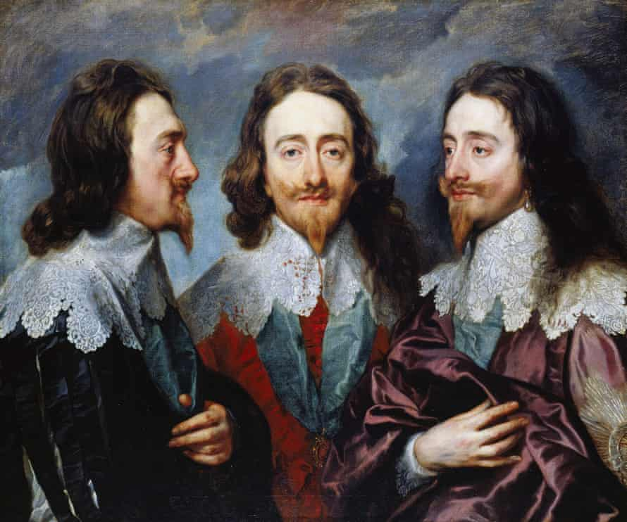Bizarre conviction … Van Dyck's Triptych portrait of King Charles I of England.
