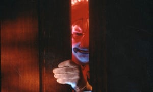 Figure of fear … a character in the film Clownhouse adds to the mood of coulrophobia, the technical name for the fear of clowns.