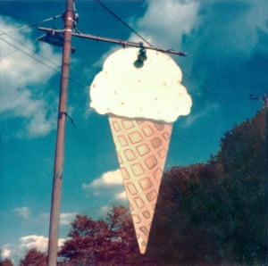 Ice Cream Store Sign, New Jersey, 1973-75
