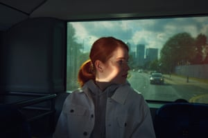 This portrait is taken from a longer form project that looks at the journeys people take on buses everyday in and around London