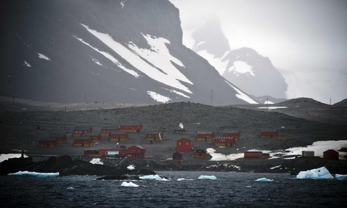 Antarctica logs hottest temperature on record with a reading of 18.3C    World news   The Guardian