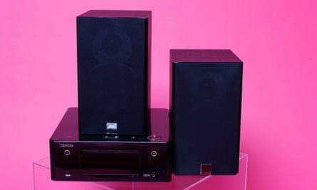 Versatile: the Denon Ceol with Dali Zensor speakers.