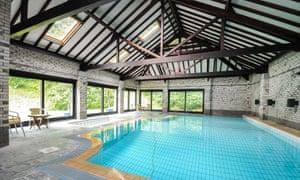 Indoor Pool at Corffe House, Tawstock, Devon