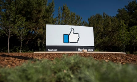 Facebook's headquarters in Menlo Park, California. The company's famous 'likes' feature has been described by its creator as 'bright dings of pseudo-pleasure'.