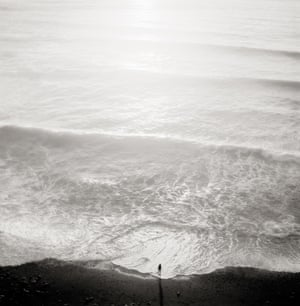 Jeffrey Conley, Figure and Tide, 2001Conley's photographs vary from small, intimate and subtle to large, grand and dramatic, with luminous hand-coated platinum and palladium prints.