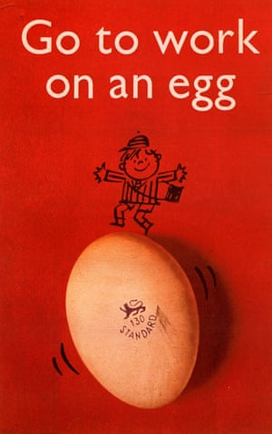 A 1957 advert by the British Egg Marketing Board.