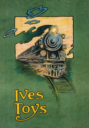 Ives Manufacturing Company, 1914 toy train advert from the book Toys: 100 Years of All-American Toy Ads (£30) by Jim Heimann and Steven Heller is published by Taschen.