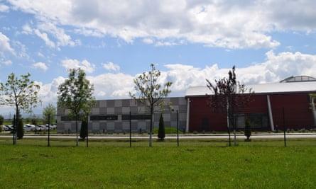 Louis Vuitton's factory in Cisnadie, Romania.