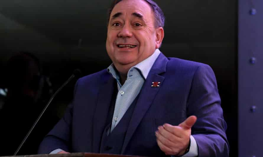 Alex Salmond's bid for independence may have been thwarted with the help of the Kremlin, the Russians claim.