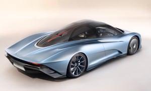 McLaren Speedtail-01 P new supercar from mclaren