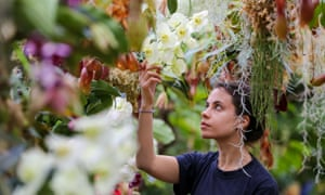 the Orchid Festival at Kew Gardens.