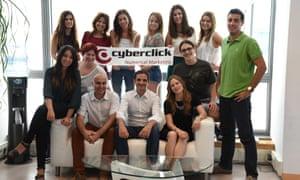 Cyberclick employees.