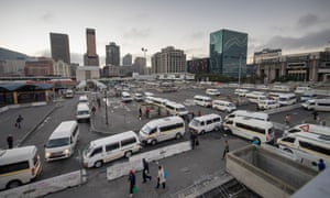 Cape Town's lowest earners can spend almost half of their monthly income on transport.