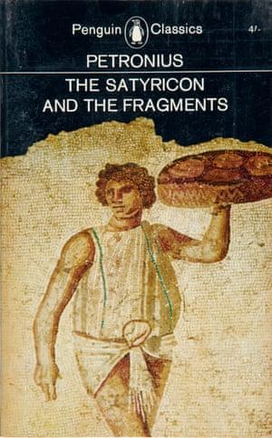 Petronius, The Satyricon, Penguin Classics covers