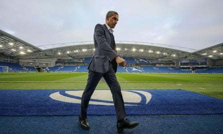 Chris Hughton has been sacked by Brighton after a disastrous slump in form almost cost them their Premier League status.