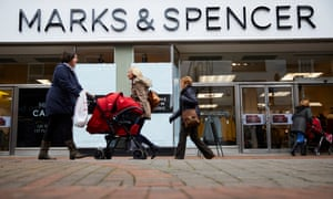 Marks & Spencer store in Macclesfield, Cheshire