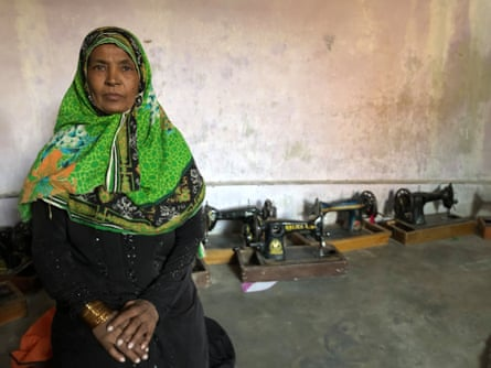 Shamim Bano was the first person to register under new laws that recognise her work from home in Sindh province.