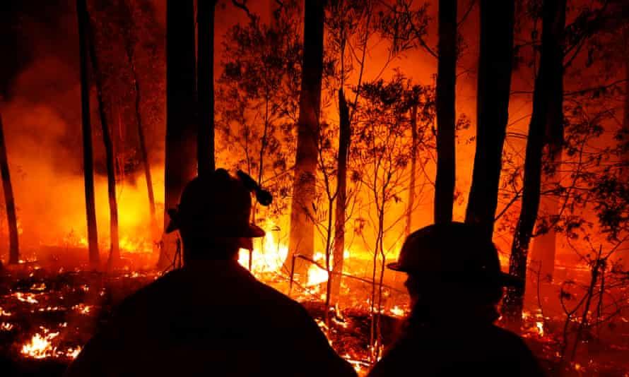 Summer bushfires