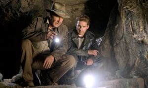 Harrison Ford and Shia LaBeouf in 2008's Indiana Jones and the Kingdom of the Crystal Skull.