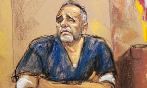 Alex Cifuentes, a close associate of the accused Mexican drug lord Joaquín 'El Chapo' Guzmán testifies in New York on Tuesday.