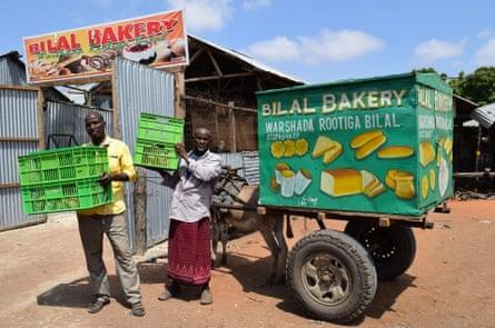 A bakery in Dadaab