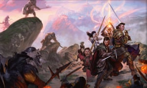 A wallpaper of Dungeons & Dragons from Sword Coast Adventurer's Guide