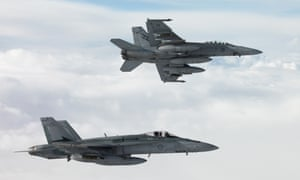 'Australian jets are spending thousands of hours in the air, yet we are only given pretty pictures of them in action.'