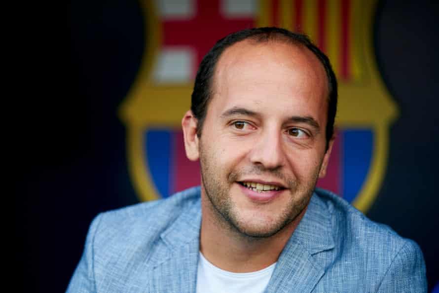 Lluis Cortes, manager of FC Barcelona.