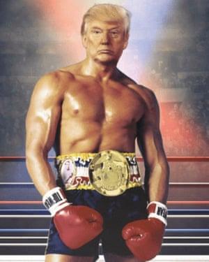 Trump photoshopped