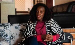Vanessa Nakate at her home in Kampala, Uganda.