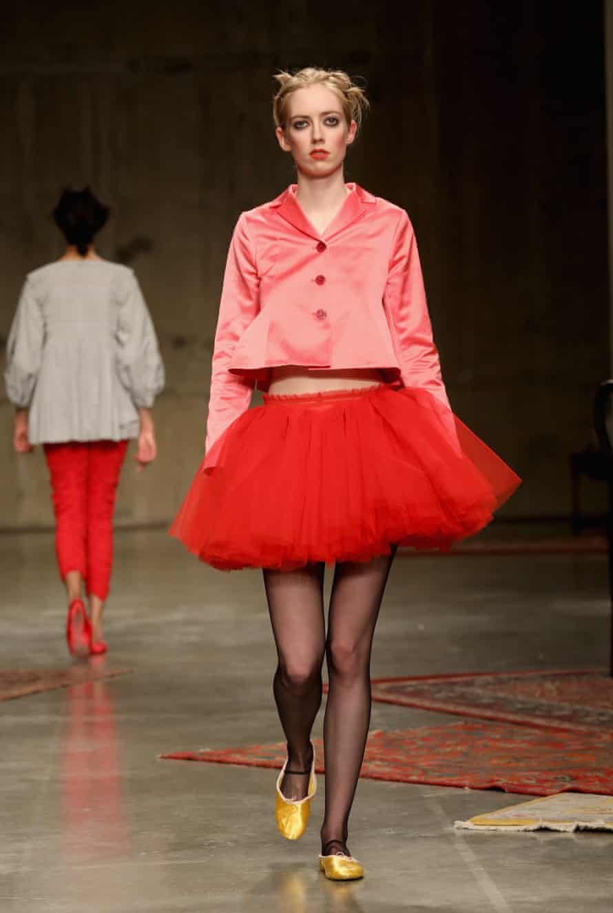 Frills are the look of the moment, and Molly Goddard is the master.