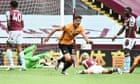 Aston Villa 0-1 Wolves: Premier League –as it happened thumbnail