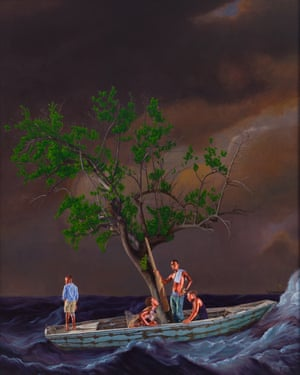 Ship of Fools by Kehinde Wiley.
